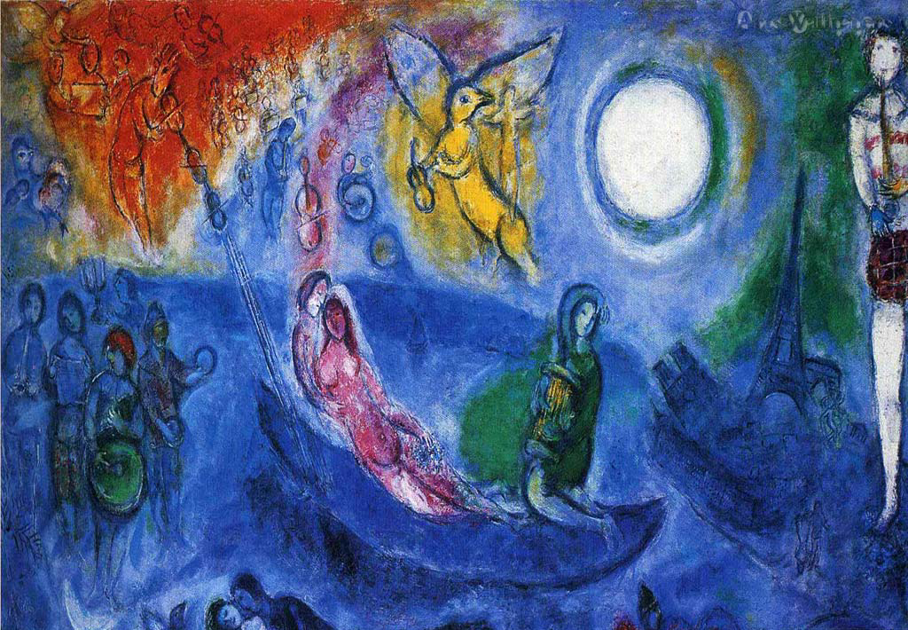 Number Marc Chagall