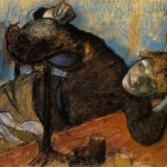 Oil Painting Reproduction Canvas The Milliner Artist Degas