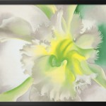 Orchid Georgia Keeffe Painting