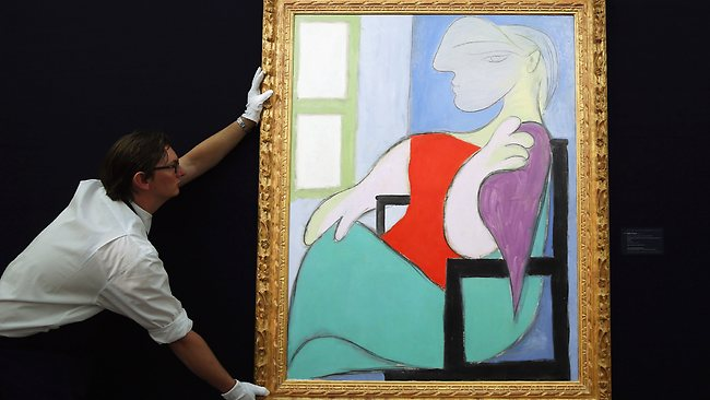 Pablo Picasso Portrait His Muse Marie Therese Walter Woman
