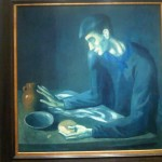 Pablo Picasso Spain Oil Canvas From Blue Period