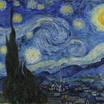 Painting Reproduction The Starry Night Vincent Van Gogh