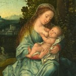 Paintings Baby Mother Renaissance Breastfeeding