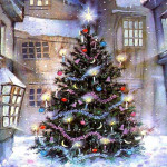 Paintings Christmas Tree Painting Famous