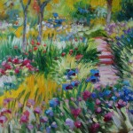 Paintings Painting Claude Monet Field Flowers