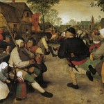 Peasant Dance Pieter Bruegel The Elder Antwerp