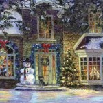 Pic Oil Painting Styles Canvas Special Santa Claus