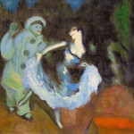 Pobeb Pierrot And Columbine Autumn Pablo Picasso
