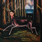 Pobhb The Wounded Deer Frida Kahlo