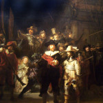 Rembrandt Work Sketched The Night Watch