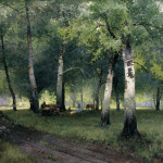 Russian Landscape Painter Style Fine Art Painting