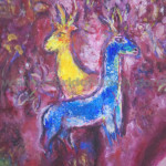 Stock Titled Painting Marc Chagall Museum Nice