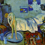 The Blue Room Picasso Period Art Picture