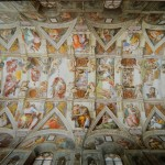The Sistine Chapel Ceiling Painted Michelangelo Showing