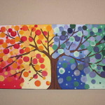 Topic Colorful Tree Painting Read Times