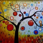 Tree Lucky Oil Paintings Hand Made Painting Canvas Tkuh