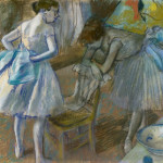 Two Ballet Dancers Dressing Room National Gallery Ireland