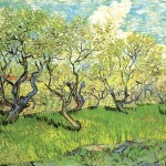 Vincent Van Gogh Paintings Orchard Blossom