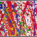 Abstract Art Projects Kindergarten And Graders Throwing