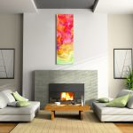 Abstract Canvas Art Digital Painting