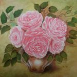 Acrylic Decorative Floral Paintings