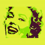 Andy Warhol Famous Marilyn Monroe Painting