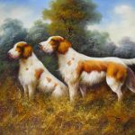 Animal Oil Painting Hand Painted