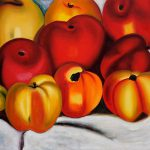 Apple Georgia Keeffe Famous Painting Reproduction