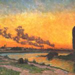 Armand Guillaumin Soleil Couchant Ivry Sunset