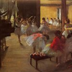 Art Name The Dance Class Iii Artist Edgar Degas Painting