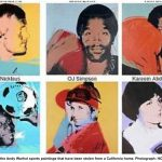 Artknowledgenews Andy Warhol Sports Paintings