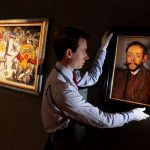 Auction House Holds Painting Pablo Picasso Next