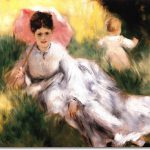 Auguste Renoir French Impressionist Painting Pierre Woman