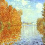 Autumn Argenteuil Oil Canvas Courtauld Institute