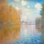 Autumn Paintings Effect Argenteuil Claude Monet