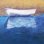 Awaiting The Tide Oil Canvas