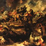 Battle The Amazons Peter Paul Rubens