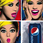 Beyonce Pays Homage Andy Warhol Pop Art Pepsi Live For