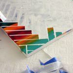 Canvas Carefully Remove The Strips Tape Reveal Your Painting
