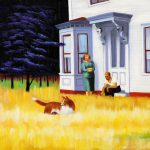 Cape Cod Evening Edward Hopper Paintings