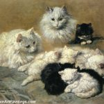 Cat Painting Cats And Kittens