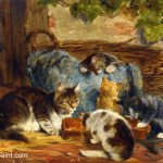 Cat Paintings The Kittens Famous Artists Art Pieces