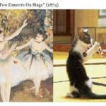 Cats And Paintings Famous
