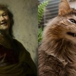 Cats That Look Like Famous Paintings
