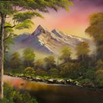 Change Seasons Painting Bob Ross Paintings For Sale