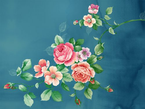 Chinese Art Paintings Flower