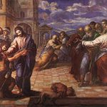Christ Healing The Blind Man Greco