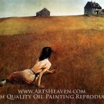 Christina World Andrew Wyeth Museum Quality Oil Painting