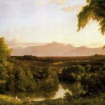 Classical Landscape Oil Painting