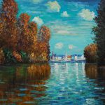 Claude Monet Famous Paintings Argenteuil